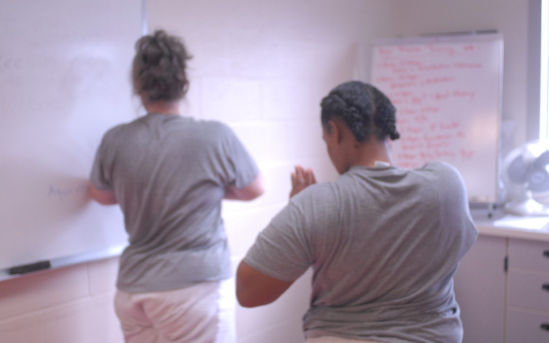 Our Teacher Training Behind Bars for women has started!
