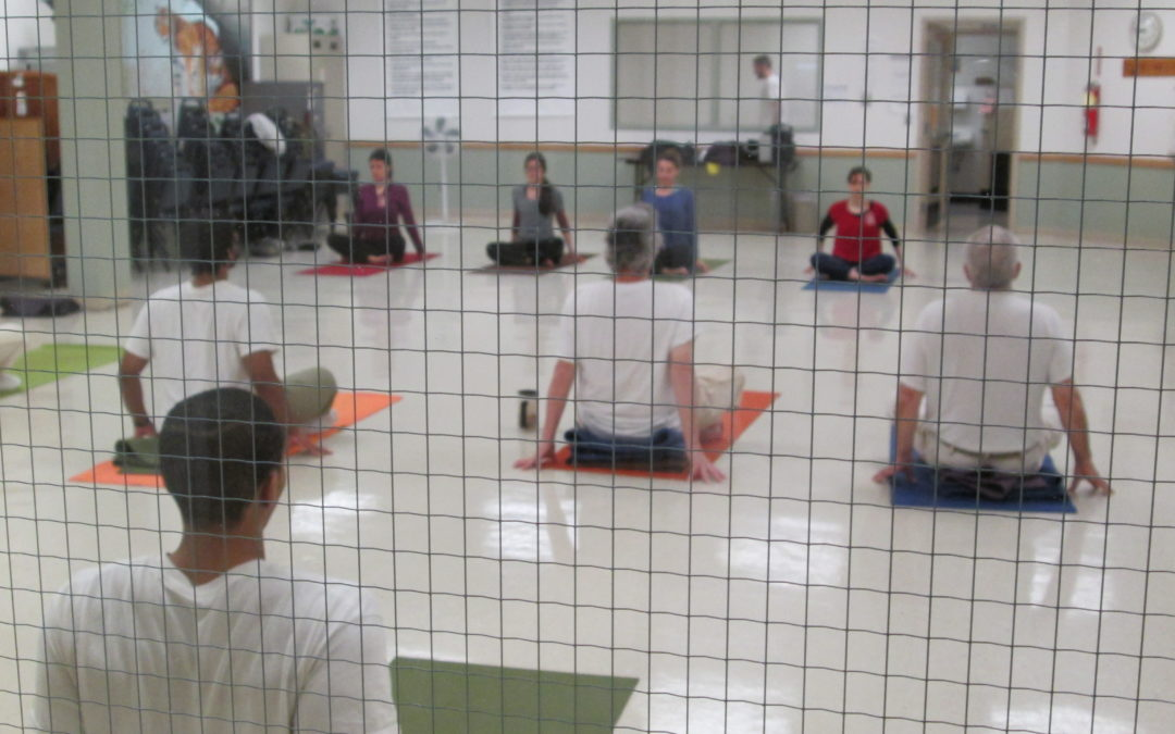 Bringing messages of love to our incarcerated yoga students